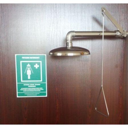 Prysznic bezpieczeństwa ratunkowy TG -07